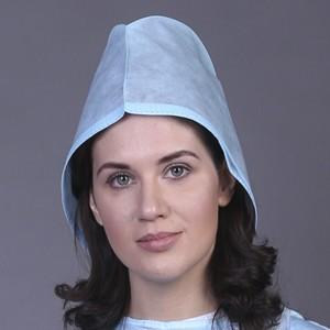 """Шапочка для врача """"Колпак"""", ламинированная (25 шт)"""