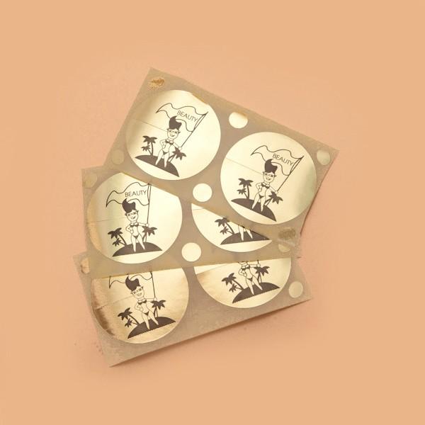 Стикини на грудь с родинками (100 пар)