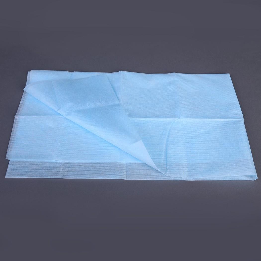 Простыня стерильная голубая, СМС (1 шт)