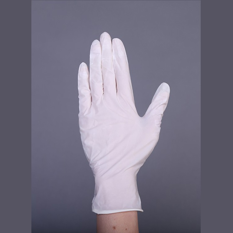 Перчатки латексные смотровые НЕ СТЕРИЛЬНЫЕ гладкие (опудренные), уп: 50 пар