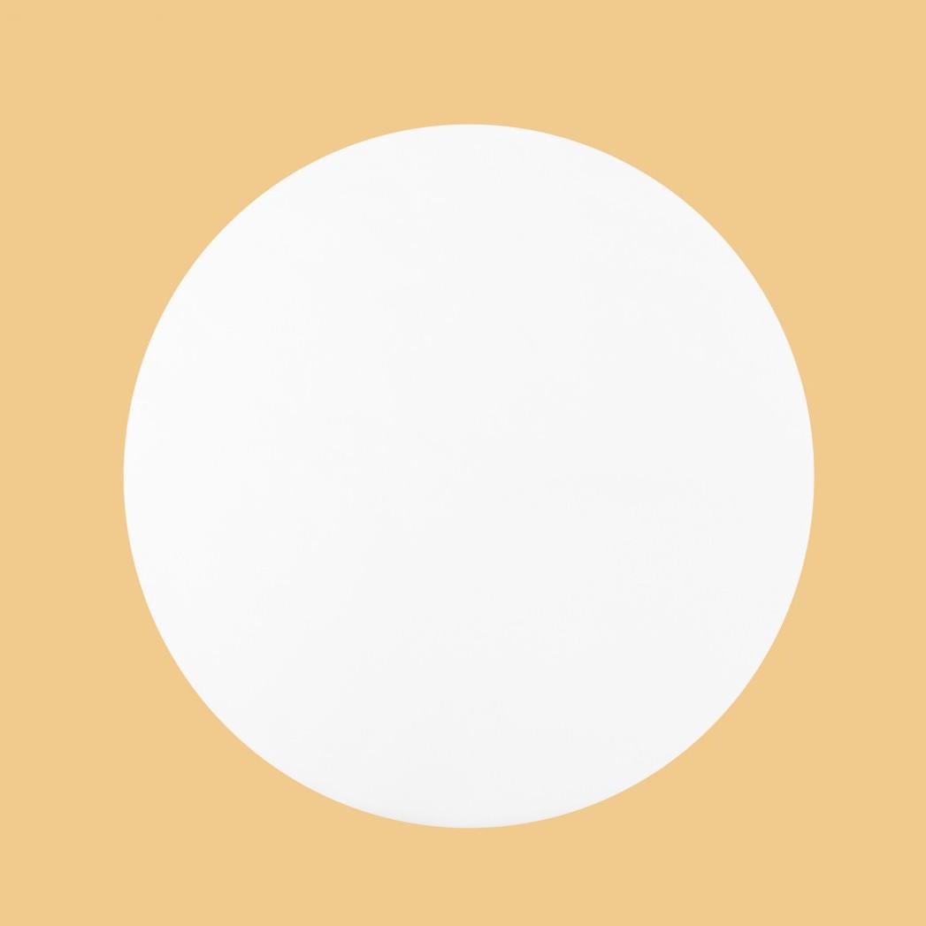 """коврик """"Круг D-50см"""", СПАНБОНД, белый (100 шт)"""