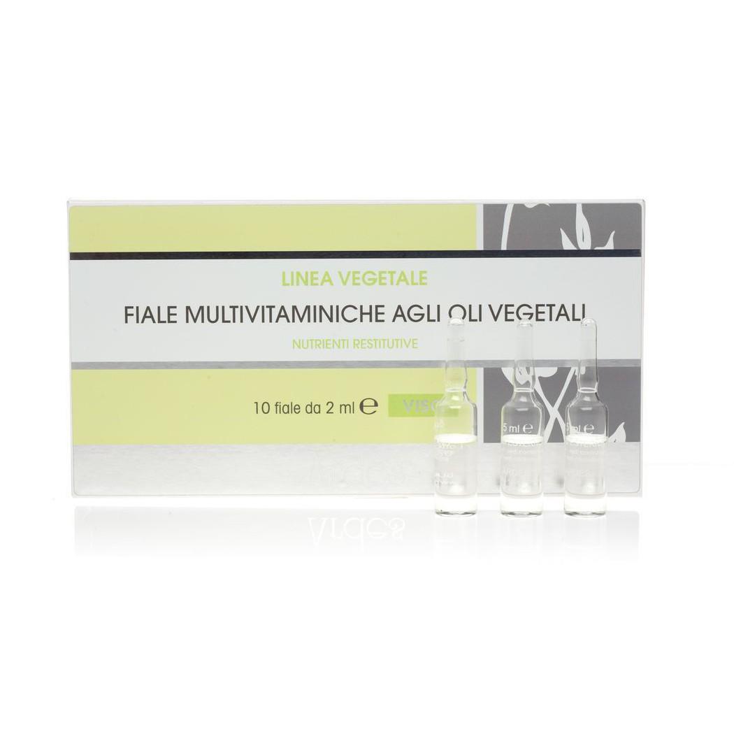 Флюид мультивитаминный в ампулах на натуральных маслах (для лица, шеи, декольте)