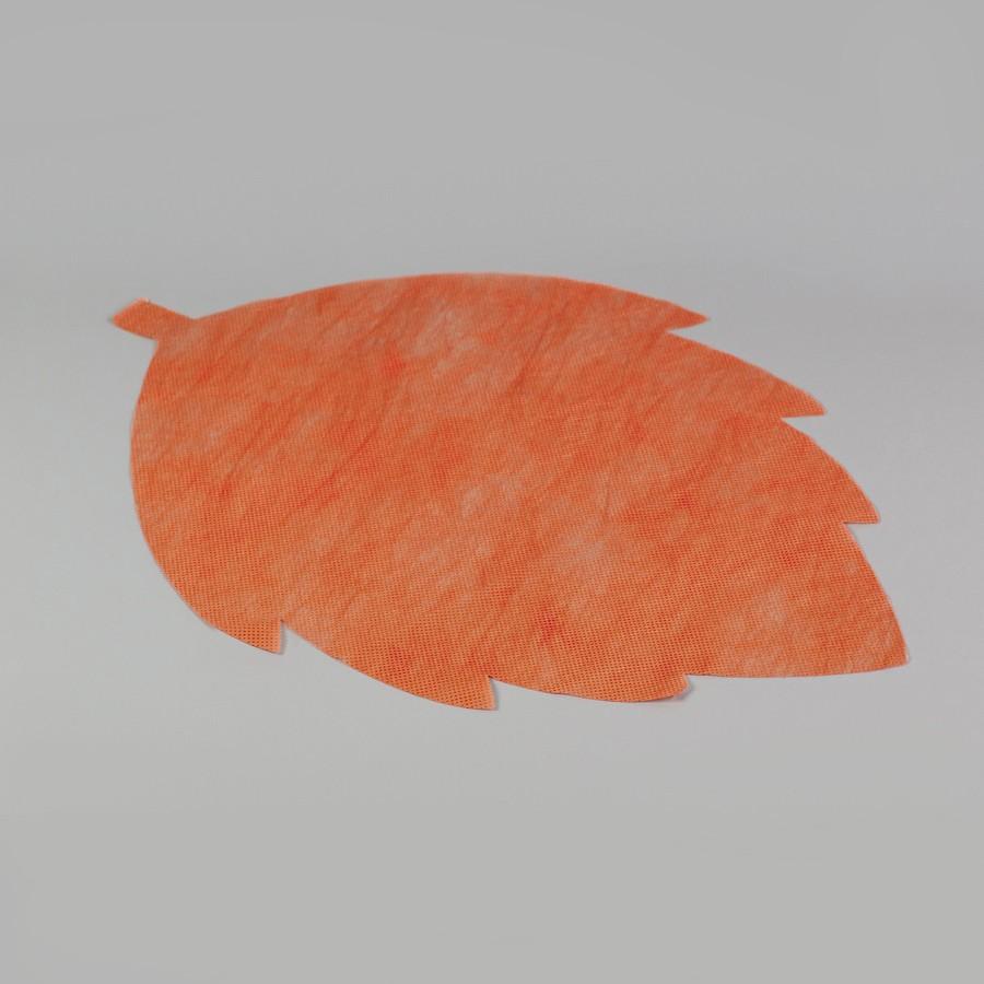 """Коврик """"Лист березы"""", СПАНБОНД, цвет: в ассортименте (50 шт)"""