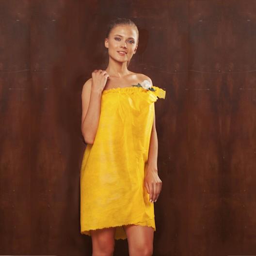 Пеньюар косметологический «Кружевница», спанбонд, цвет: в ассортименте