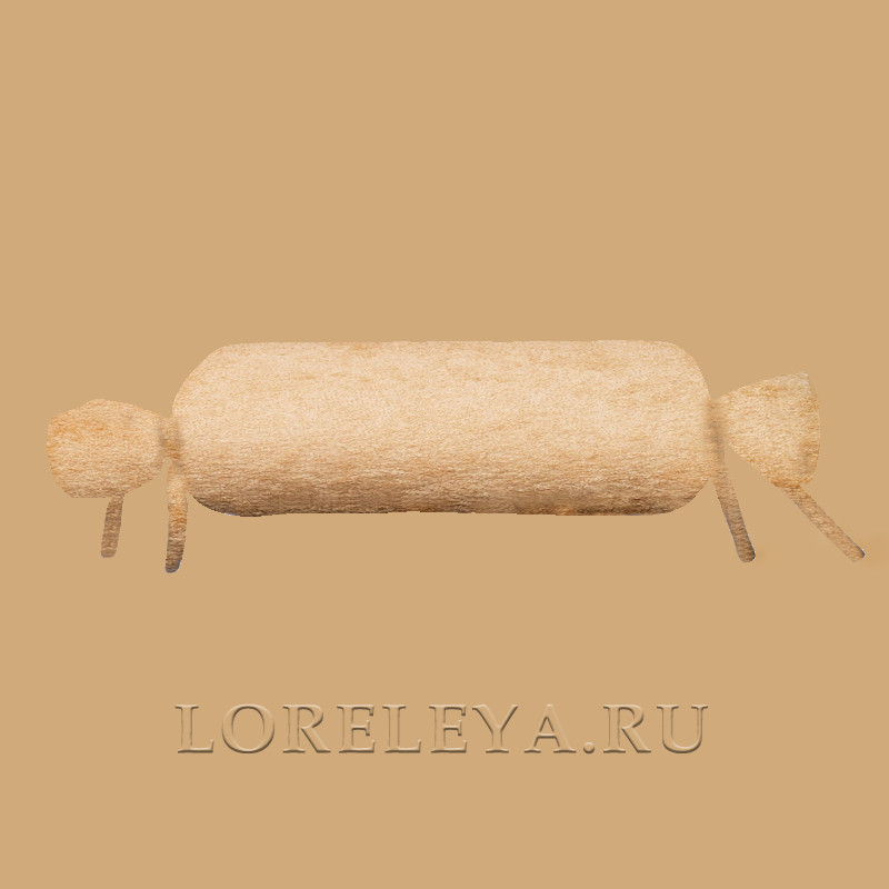 Наволочка на подушку ВАЛИК, махра, цвет: в ассортименте