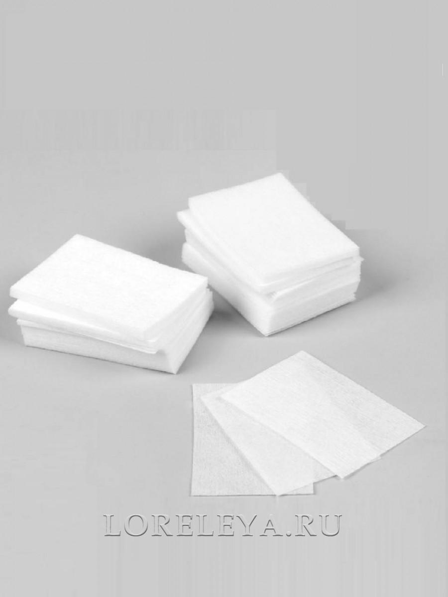 Салфетки безворсовые для маникюра 40х60 мм