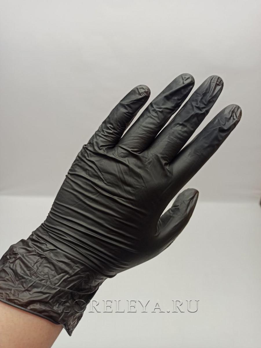 Нитровиниловые перчатки (50пар)