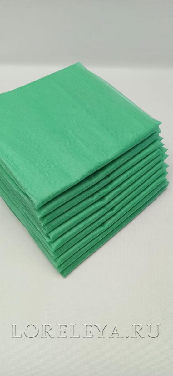 Простыня зелёная сложённая (10 шт.)