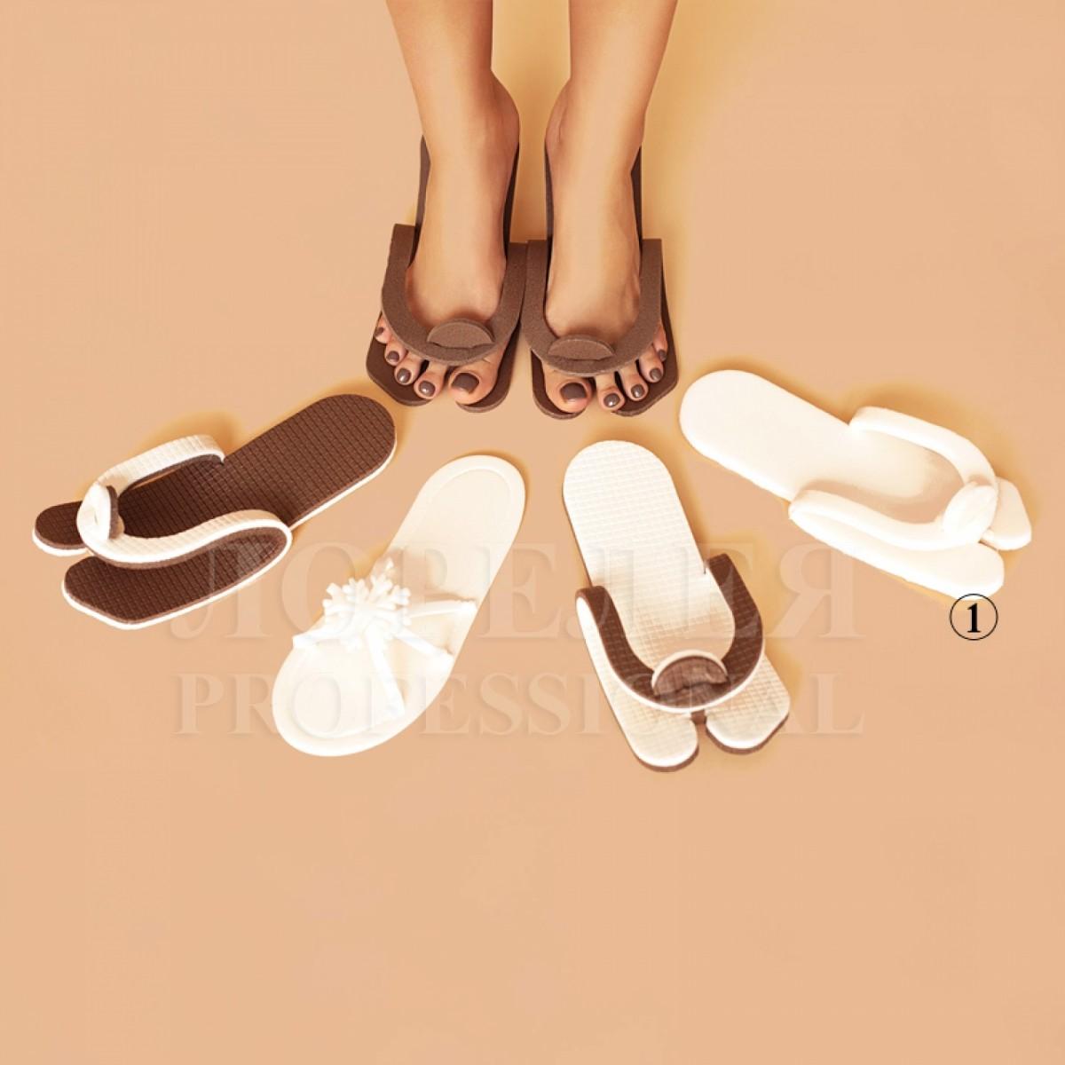 Тапочки вьетнамки, подошва 5мм (25 пар)