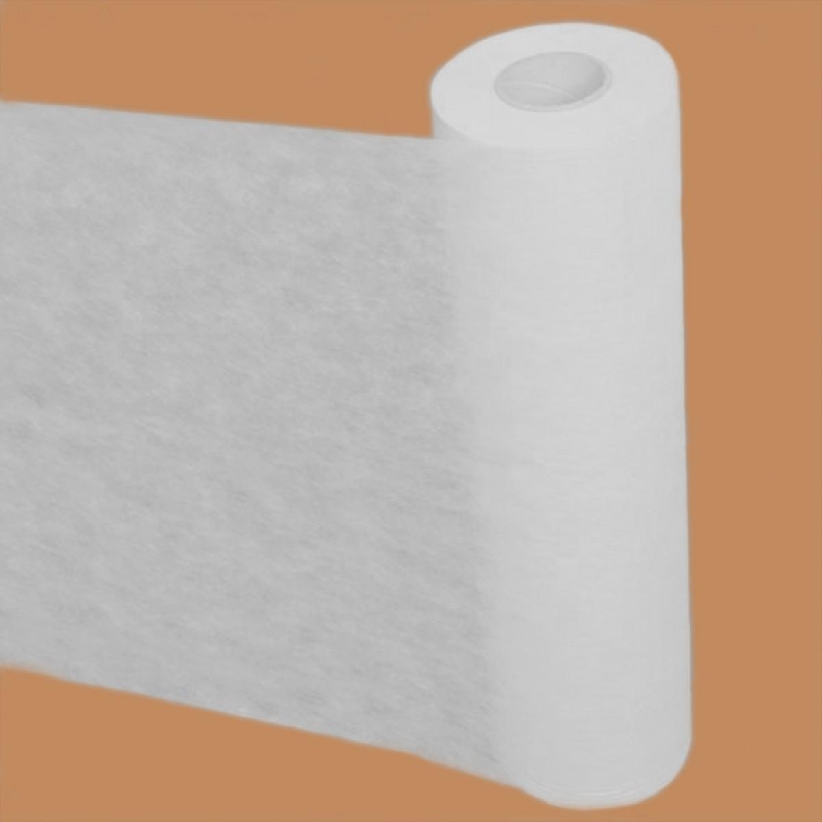 Простыни в рулонах с перфорацией , спанбонд 15 г/м2, белые