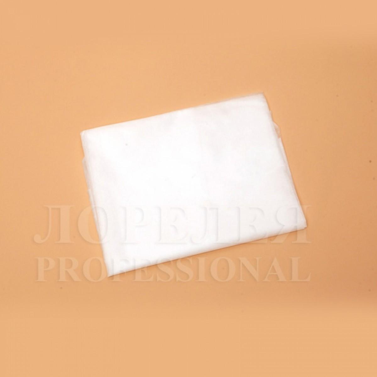 Простыни, ламинированный СПАНЛЕЙС, белые (10 шт)