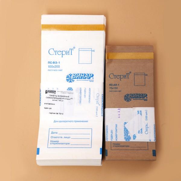 Крафт–пакеты (100 шт)