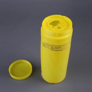 Емкость-контейнер для сбора острого инструментария (Класс Б) 2л