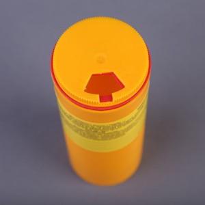 Емкость-контейнер для сбора острого инструментария (Класс Б) 0,25л
