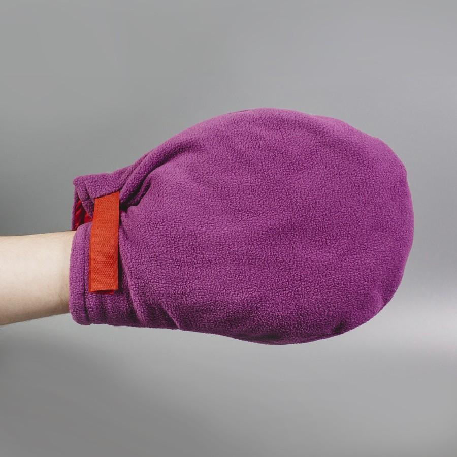 Варежки для парафинотерапии на липучке. Флис