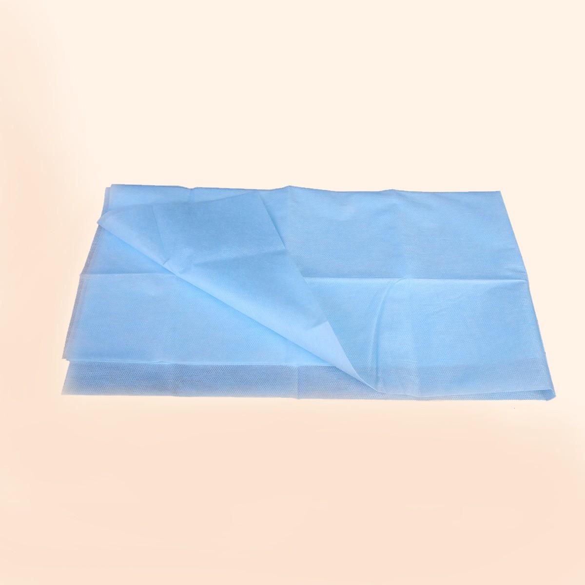 Простыня стерильная голубая, спанбонд 140х200 см, (1 шт)