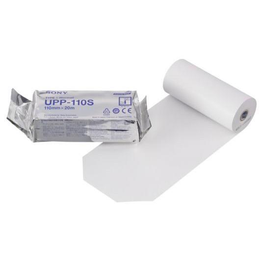 Бумага для УЗИ Sony стандартная UPP 110S 110мм х 20м (Япония)