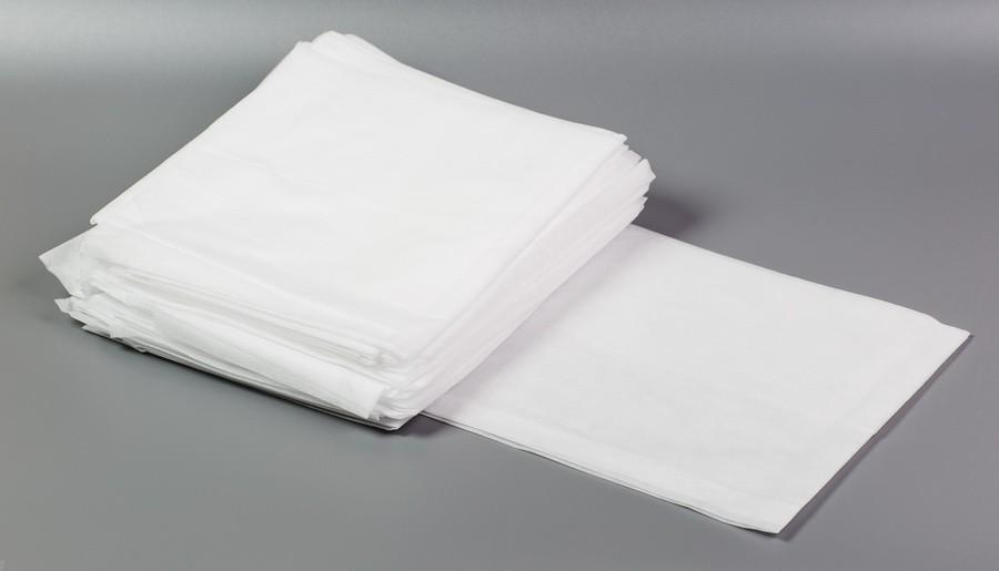 Коврик прямоугольный, СПАНБОНД, белый (100 шт)