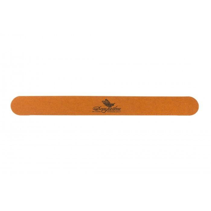 Одноразовая пилка для ногтей Dona Jerdona тонкая деревянная оранжевая