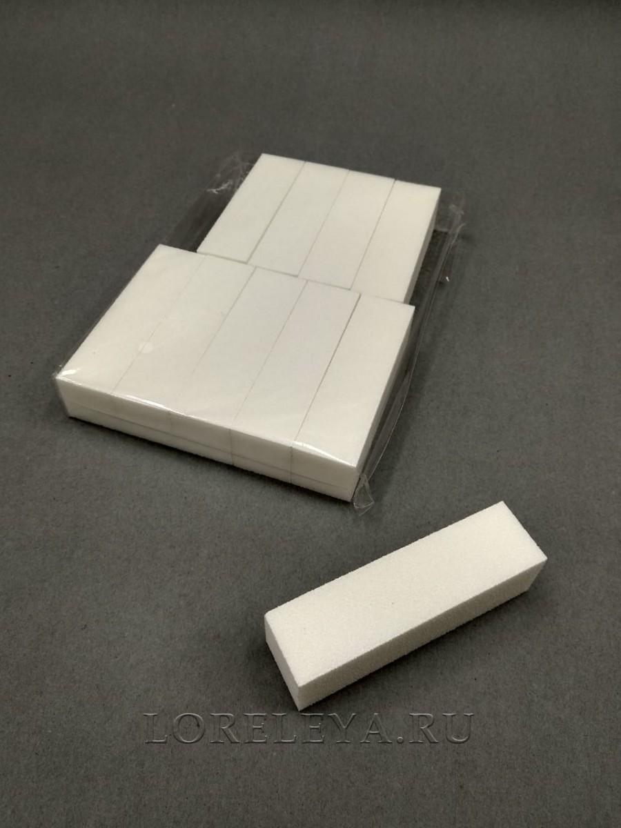 Баф-блок белый  (уп.10 шт.)
