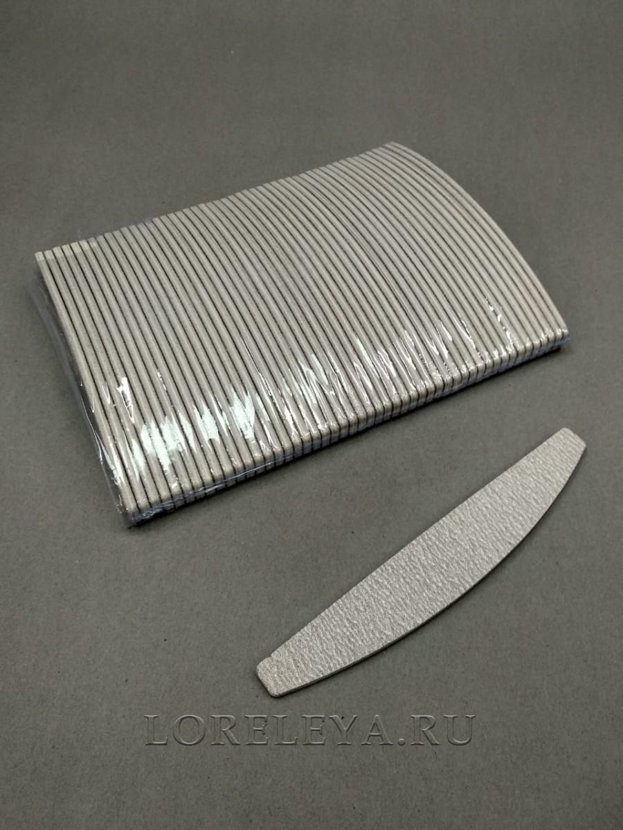 Пилка  для натуральных ногтей одноразовая зебра мост 150/150 (уп.50 шт.)