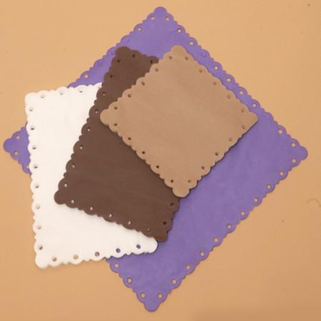 Салфетки не впитывающие «Кружевница», спанбонд, цветные (25 шт)