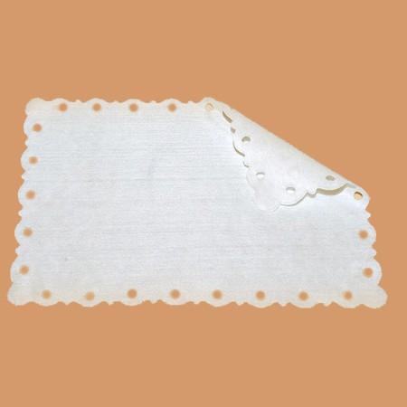 Салфетки впитывающие «Кружевница», спанлейс, белые (50 шт)
