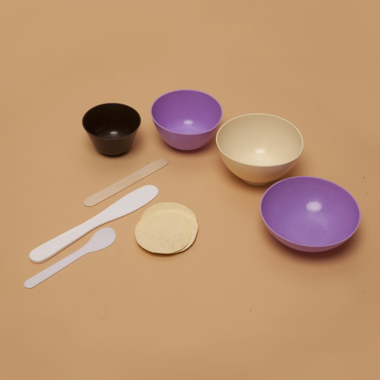 Чаши косметологические для альгинатных масок, мягкие, 4 объема